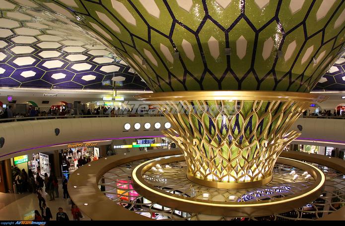 Abu Dhabi Inernational Airport Etihad Terminal 3