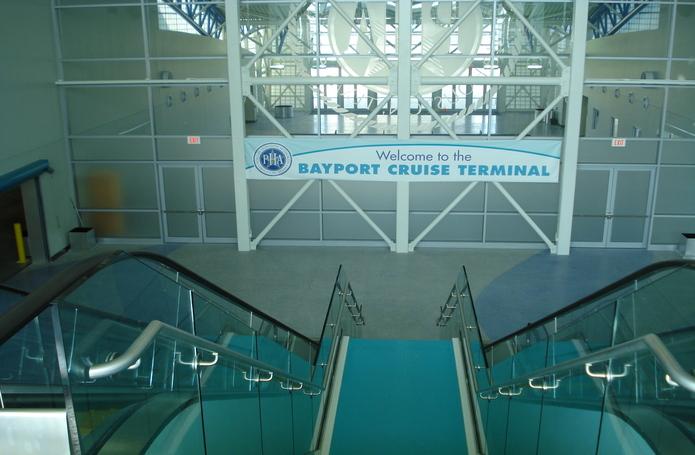 Bayport Cruise Ship Terminal Complex Building