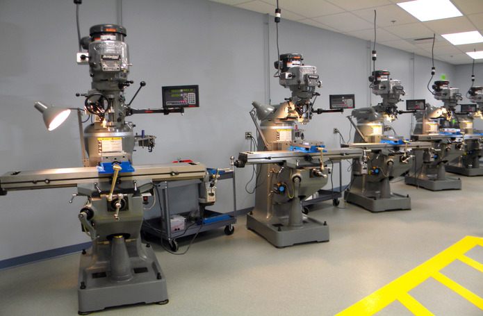 Quinebaug Valley Community College Advanced Manufacturing Training Center
