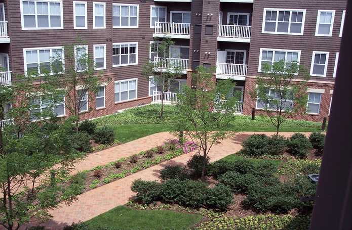 Mill River House Condominiums & Parking Garage